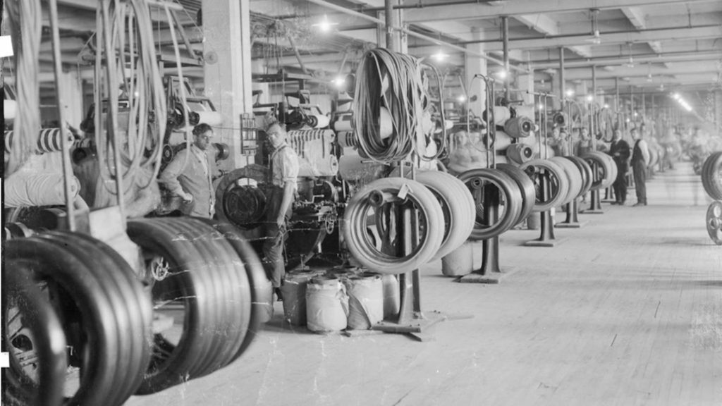 The History Of The Modern Tire